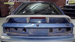 1993 SVT Cobra Spoiler Installation (Fox Body) - 93 Cobra Wing installation - Fox Body Mustang